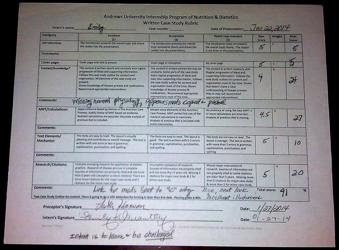 case study presentation rubric Sced 7201 evaluation of case study presentation (100 pts possible) case presentation rubric sced 7201 evaluation of case study presentation.